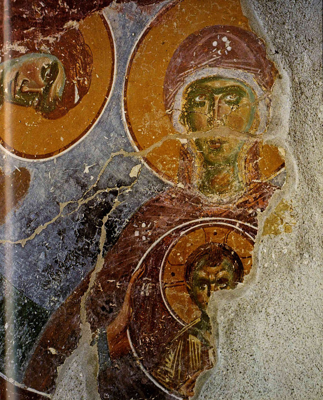 Fig. 8. Frescoe from the Transfiguration Pirgos, XIII c