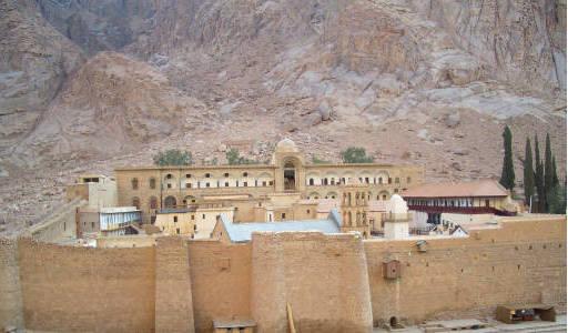 Slovo-ASO Project: St  Catherine's Monastery on Mount Sinai